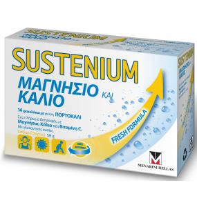 Sustenium Μαγνήσιο και Κάλιο - 14 Φακελάκια