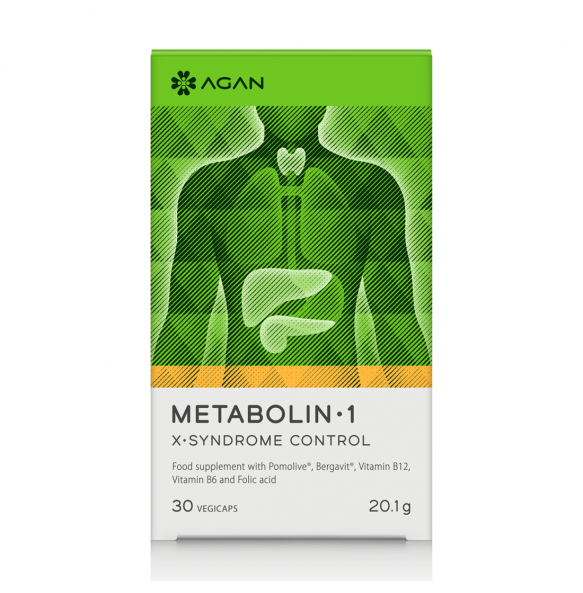 AGAN Metabolin-1 X-Syndrome Control (30caps)