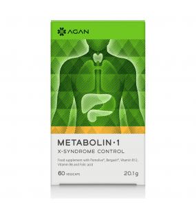 AGAN Metabolin-1 X-Syndrome Control (60caps)