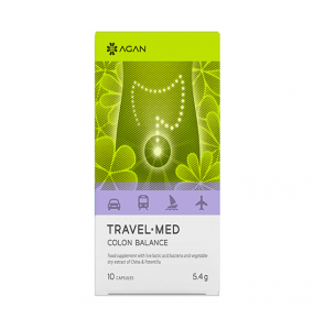 AGAN TRAVEL - MED COLON BALANCE (10vcaps)