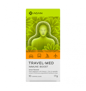 AGAN TRAVEL-MED IMMUNE BOOST (10 chewable tabs)