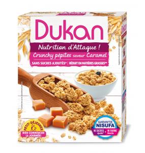 DUKAN - Δημητριακά Βρώμης με γεύση Καραμέλα - 350gr