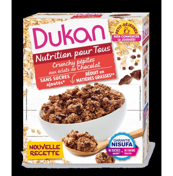 DUKAN - Δημητριακά Βρώμης με Κομμάτια Σοκολάτας - 350gr