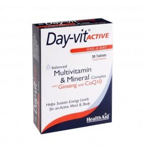 HEALTH AID DAY VIT ACTIVE 30TABL