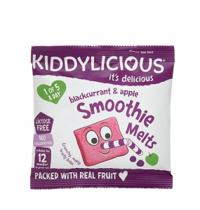 Kiddylicious Blackcurrant & Apple Smoothie Melts 6gr