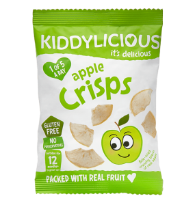 Kiddylicious Apple Crisps 12gr