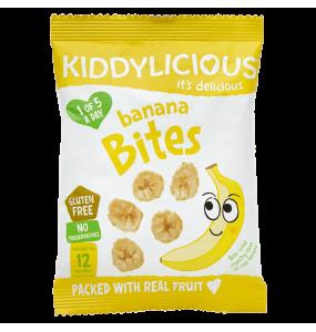 Kiddylicious Banana Bites 12gr