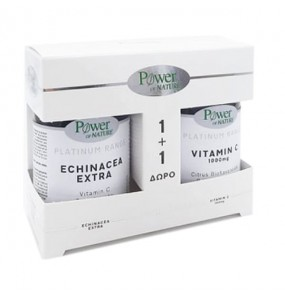 POWER HEALTH ECHINACEA EXTRA x30 TABL + VIT C 1000 MG ΔΩΡΟ