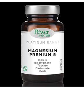 POWER HEALTH MAGNESIUM PREMIUM 5 x60 CAPS