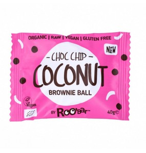 Brownie Ball με Καρύδα & Κομματάκια Σοκολάτας (40γρ)