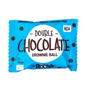 Brownie Ball με Διπλή Σοκολάτα (40γρ)