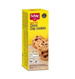 Schar Choco Chip Cookies Χωρίς Γλουτένη 100gr
