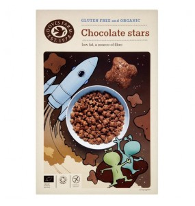 Doves Δημητριακά Stars με Σοκολάτα χωρίς γλουτένη (375γρ)