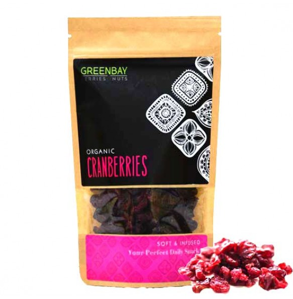 Greenbay Κράνμπερις (Cranberries) αποξηραμένα (125γρ)