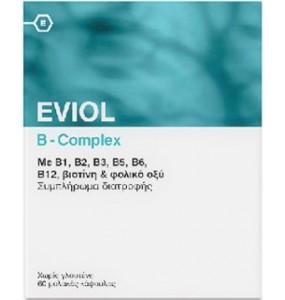EVIOL B Complex 60 soft caps