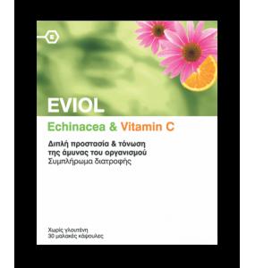 EVIOL Echinacea & Vitamin C 30 caps