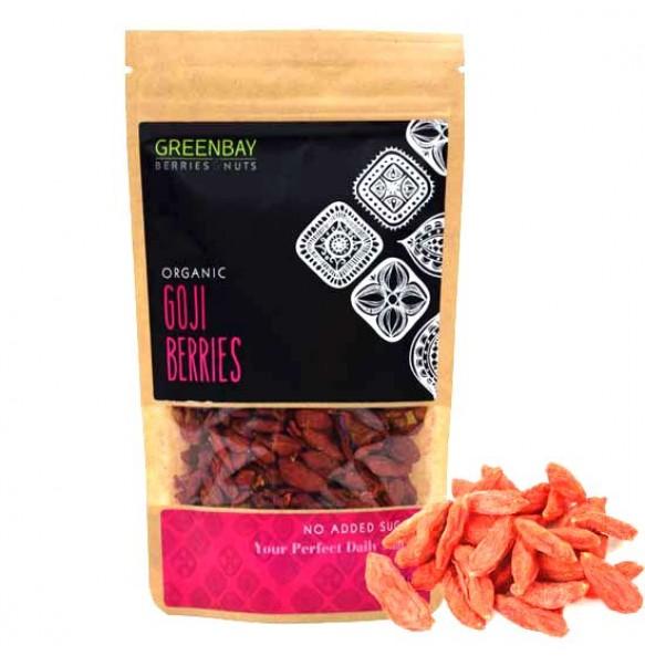 Greenbay Γκότζι (Goji berries) Super Grade (125γρ)