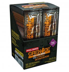 Grenade .50 Calibre Killa Cola Pre Workout Φακελάκι 1 δόση (23.2γρ)