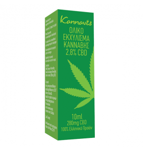 Kannavis Ολικό Εκχύλισμα Κάνναβης 2.8% CBD 10 ml