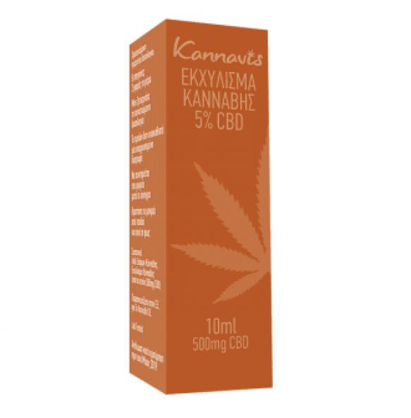 Kannavis Εκχύλισμα Κάνναβης 5% CBD 10 ml
