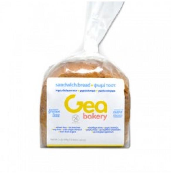 Gea bakery ψωμί τοστ σε μεγάλες φέτες 450g